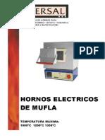 Hornos de Mufla Serie PR