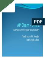 AP Chem - Unit 2