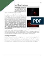 Habitability of Red Dwarf Systems