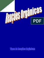 Reacoes Organicas 3serie 1bim
