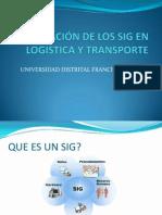 APLICACIÓN DE LOS SIG EN LOGISTICA Y TRANSPORTE