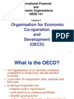 OECD. Organisation for economic Co-operation and development.