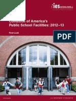 Condition of America's public school facilities 2012-13