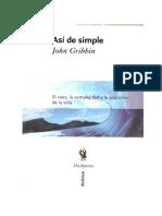 Asc3ad de Simple Caos Complejidad y La Aparicic3b3n de La Vida(1)