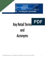 Retail Terms