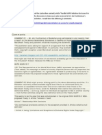 Comments on FEB 2014 WIPO Geneva Talks