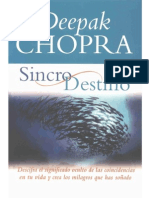 Chopra Deepak Sincronicidad y Destino1
