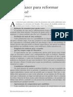 Artigo - Cristovam Buarque - Reforma Do Senado