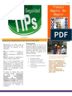 Newsletter Cultura de Seguridad Laboral No. 1