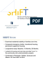 Shift Study - Line Between Trauma and Homelessness