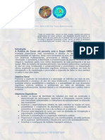 Programa Curso GIRA Teatro Florianópolis SC