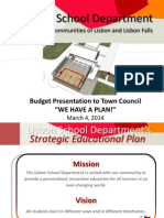 Budget Presentation March 42014 Town Council
