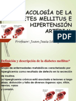FARMACOLOGÍA DE LA DIABETES MELLITUS E HIPERTENSIÓN ARTERIAL RAIMONDI