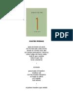 Isabel Bono. Cuatro Poemas
