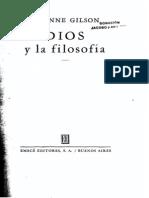 Étienne Gilson - Dios y la filosofía