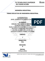 GB8-1.4 Sistemas Integrales de Manufactura