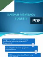 Kaedah Membaca Fonetik (Slide)