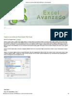 Generar un archivo de Word desde VBA Excel « Excel Avanzado
