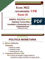 Macroeconomia Dinero
