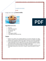 recipe development