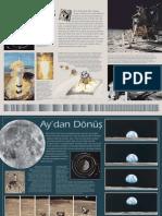 Aya gidiş (The Moon) (poster-bilim teknik)