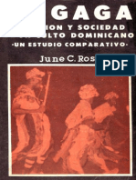 Rosenberg, June C. - El Gagá, religión y sociedad de un culto dominicano