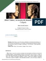 María Araceli Laurence_ Albert Camus y su noción del absurdo_ un análisis de Calígula- nº 47 Espéculo (UCM)
