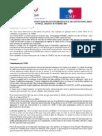 ALLOCUTION UNIVERISTES ETE UMP 2004