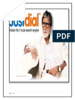 Data Collection of JustDial