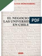 El Negocio de Las Universidades en Chile. (2011)