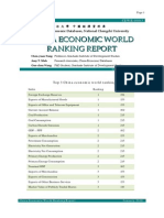 China Economic World Ranking Report Jan 2010