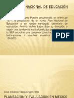 Planeacion y Evaluacion Periodo de Portillo Al 2000