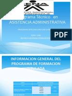 programatcnicoenasistenciaadministrativa-111014092335-phpapp02