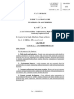 Maine GMO Bill HP 490