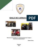 Relatório de Baile De Carnaval