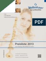 Mollenhauer-Preisliste