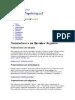 Reglas IUPAC Organica Hidrocarburos
