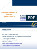 Presentation - Exadata in Turkcell