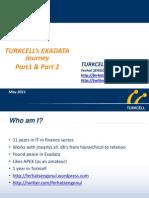 Presentation - Exadata in Turkcell