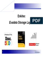 Presentation - Exadata Storage Layout