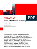 Presentation - Oracle VM and Cloud Computing