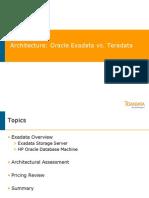 Oracle Exadata Architecture V9
