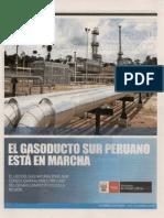 Gasoducto Sur en Marcha
