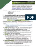 REF APA Emerging Electronic Referencing