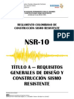 Titulo a NSR 10