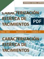 Caracterización Estática de Yacimientos