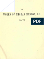 The Complete Works of Thomas Manton, D.D. Vol 7