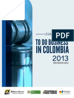 Legal Guide to Do Business in Colombia 2013 Chapter 3