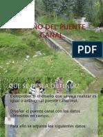 DISEÑO DEL PUENTE CANAL presentar