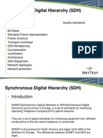 Synchronous Digital Hierarchy (SDH)